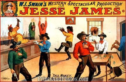 Swains Jesse James Western Stage  6914
