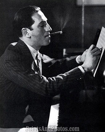 Composer George Gershwin Cigar  6932