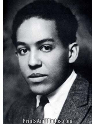 Author Langston Hughes  6933