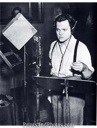 Orson Welles War of the Worlds  6938