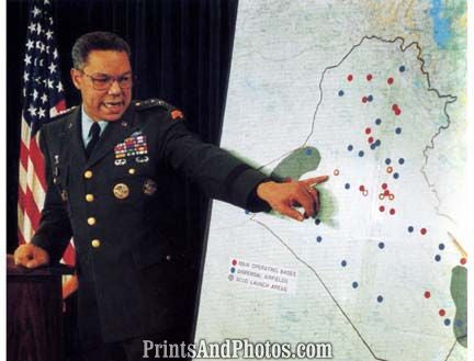 General Colin Powell Gulf War  6941