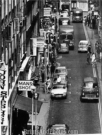 Carnaby St London 60s  6956