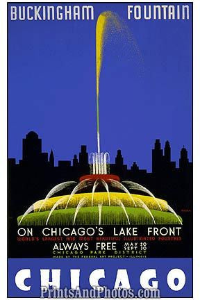Buckingham Fountain Chicago  6963