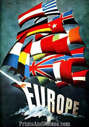 European Flags Sailing  6966