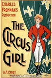The Circus Girl Vaudeville Stage  6986