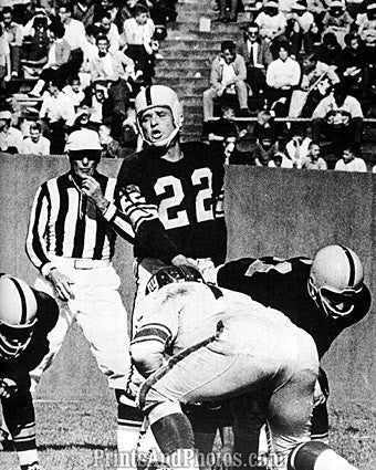 Steelers Lions Bobby Layne Action  7008