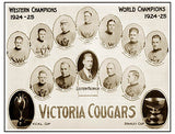 Victoria Cougars Stanley Cup Print 7049