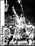 Sixers Julius Erving Nets  7069
