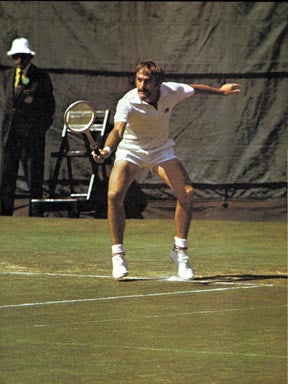Tennis Great John Newcombe  7084