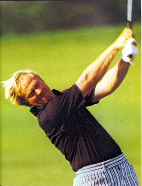 Golf Great Nicklaus 70s  7087