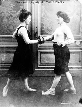 Turn of the Century Boxing Babes  7119