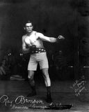Early Boxer Ray Bronson  7133
