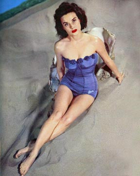 Jean Peters Pinup  7139