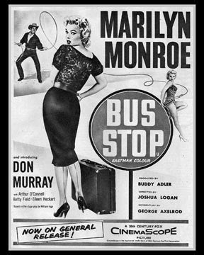 Mailyn Monroe Bus Stop Movie  7149