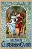 Prang's Christmas Card Art Litho  7182