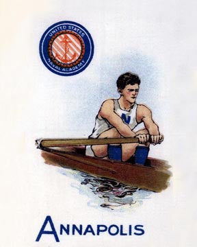 Annapolis Rowing Art Litho  7193