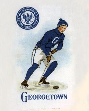 Georgetown Ice Hockey Art Litho  7