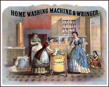 1869 Washing Machine Ad Litho  7217 - Prints and Photos