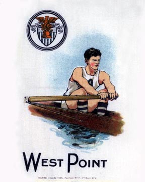West Point Rowing Art Litho  7246