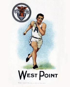 West Point Track Art Litho  7247