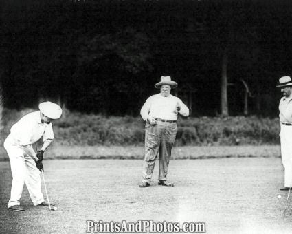 Pres. William H. Taft Golf Photo 7311