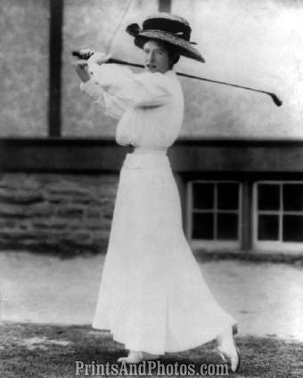 Golf  Miss Katharine Harley Photo 7332