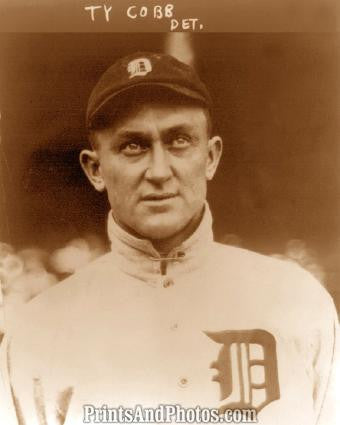 Detroit Tigers Ty Cobb 1915 Photo 7364