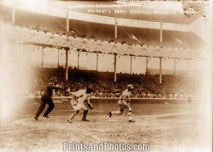 1914 Yankees & Phila. Athletics Photo 7376 - Prints and Photos