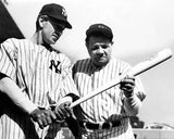 Pride of The Yankees Babe Ruth & Gary Cooper 7385