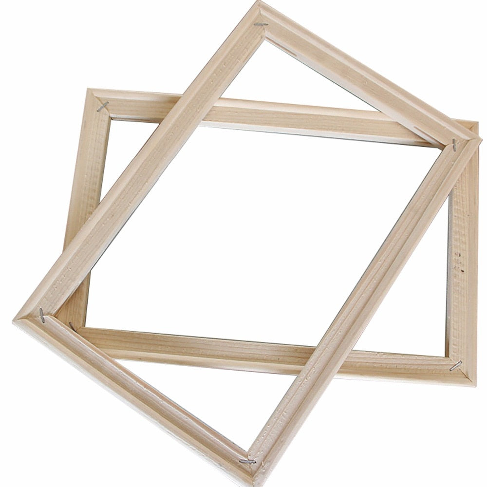 Simple 40*50 cm Wooden Frame DIY Picture Frames Art Suitable for Home Decor painting Digital Oil Painting Diamond Paintings