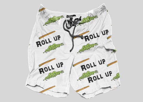 Roll Up Trunk Shorts