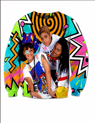 TLC 90S LIMITED EDITION CREW NECK