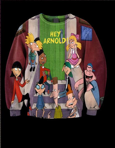 HEY ARNOLD LIMITED EDITION CREW NECK
