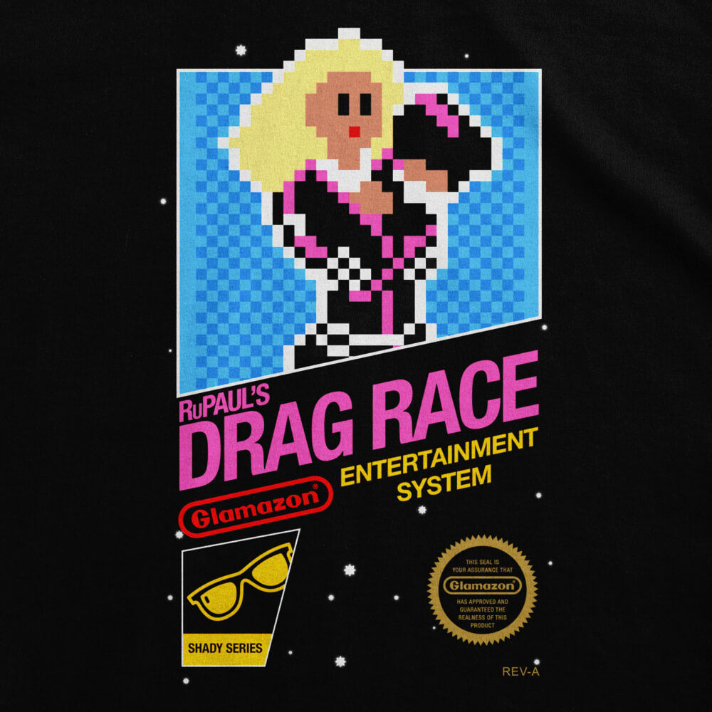 8-bit Drag Race Women's Tee