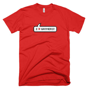 T-Shirts - I Heart Gaymers! T-Shirt
