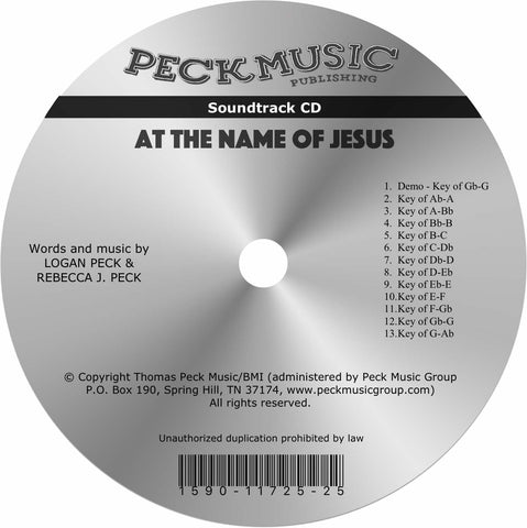 At The Name Of Jesus - soundtrack
