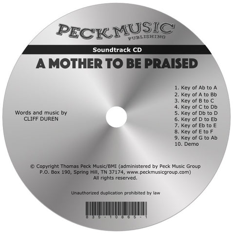 A Mother To Be Praised - soundtrack