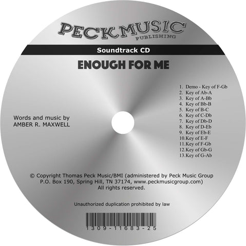 Enough For Me - soundtrack
