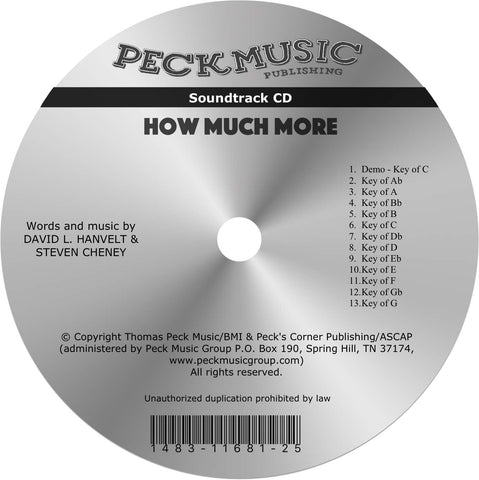 How Much More - soundtrack