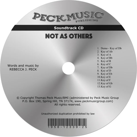Not As Others - soundtrack