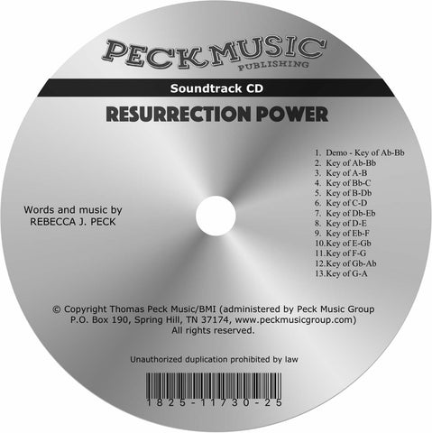 Resurrection Power - soundtrack