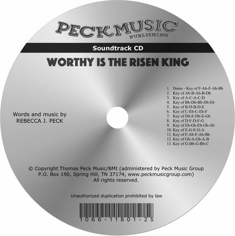 Worthy Is The Risen King - soundtrack