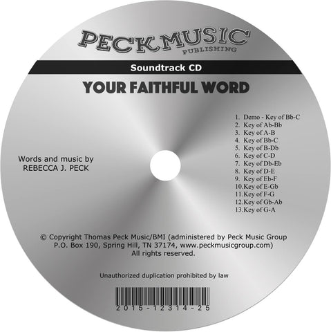Your Faithful Word - soundtrack