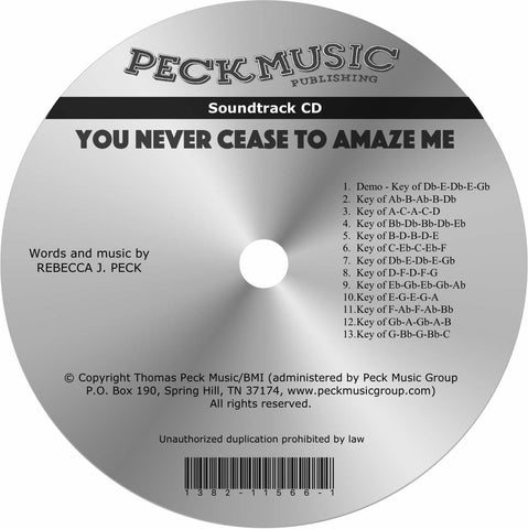 You Never Cease To Amaze Me - soundtrack