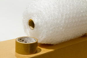 Courier Approved Bubble Wrap & Tape