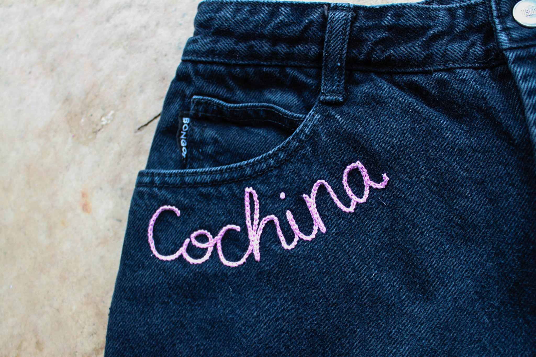 """Cochina"" Black Cut Offs- Sz 11"