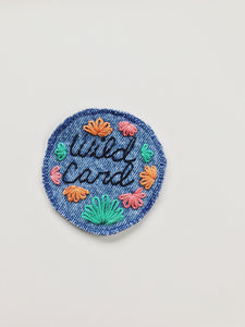 Wild Card Floral Patch