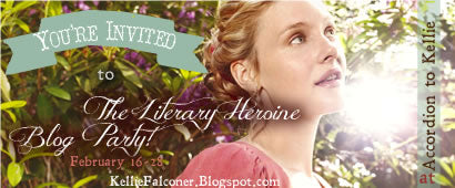 Literary Heroine Blog Party and Giveaway, February 16-18