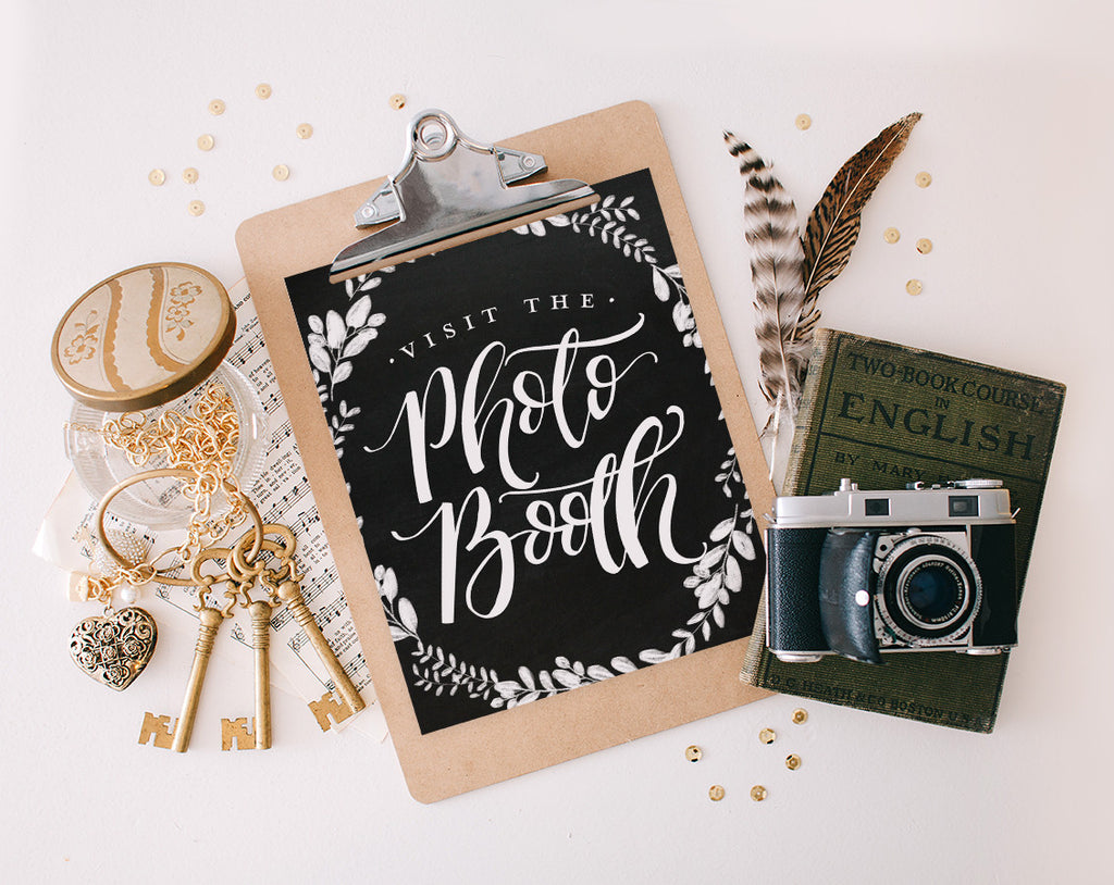 Visit the Photo Booth, Printable