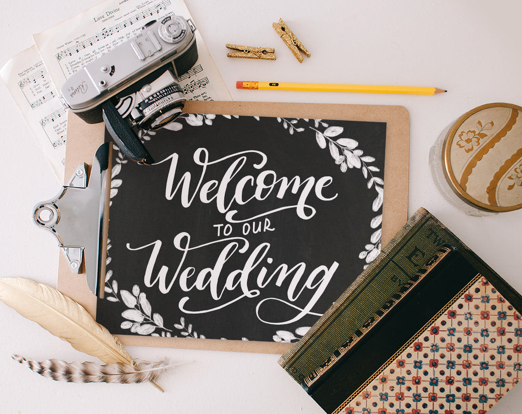 Welcome to our Wedding, Printable